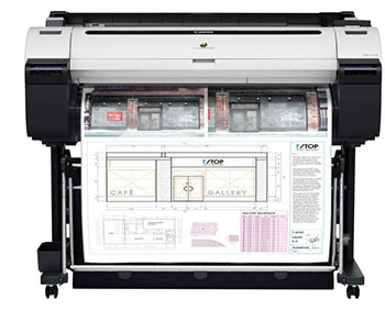 Canon iPF770 color A0  inkjet plotter